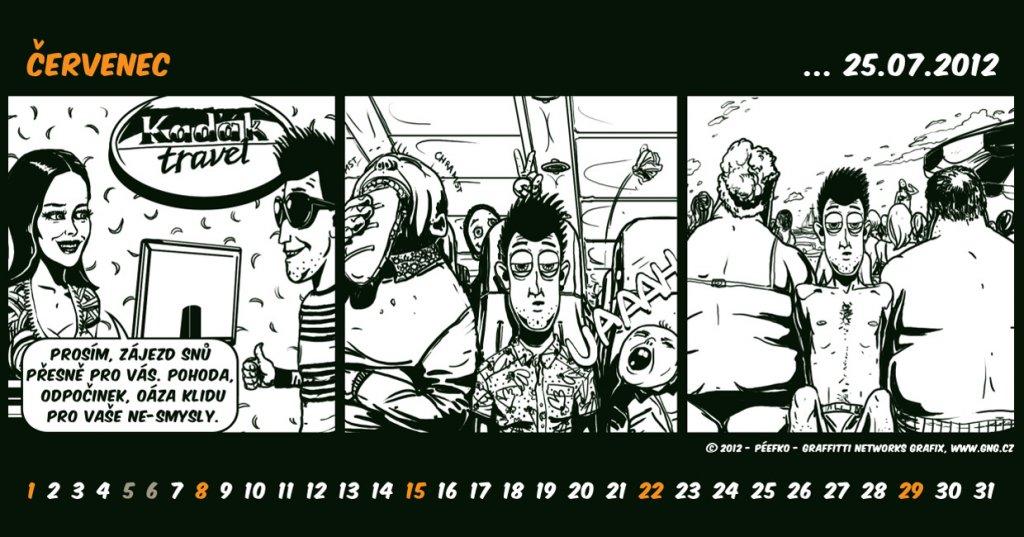 kalendar cervenec 2012 Gng kalendar cervenec 2012