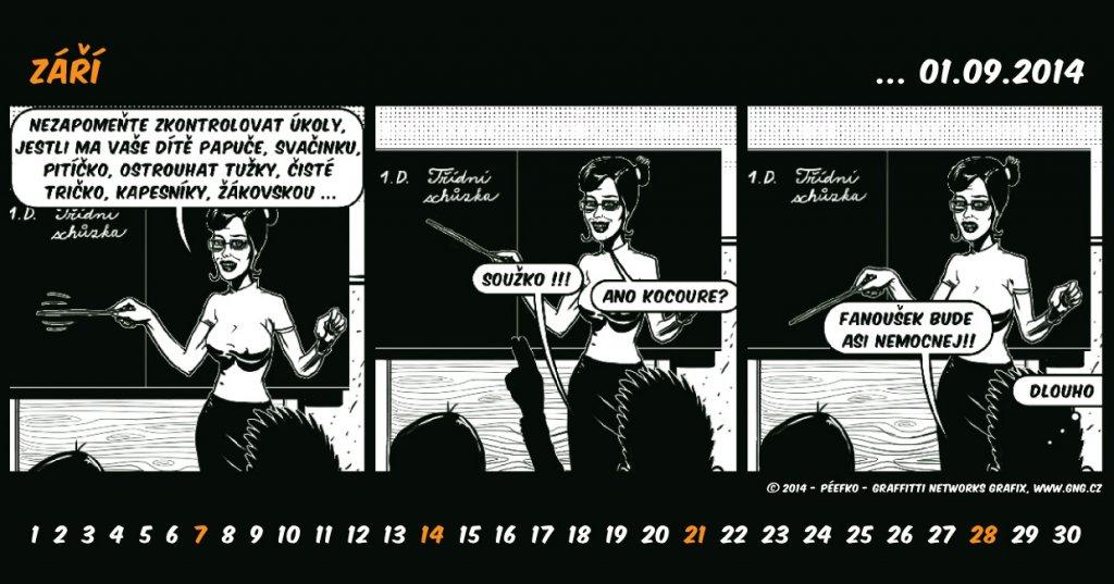 kalendar zari 2014 Gng kalendar zari 2014